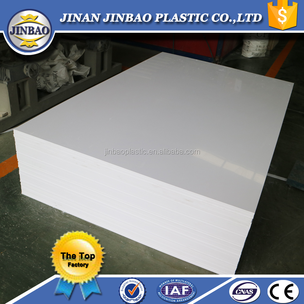 hot sale 48''x96'' color white rigid pvc sheet for bathroom product