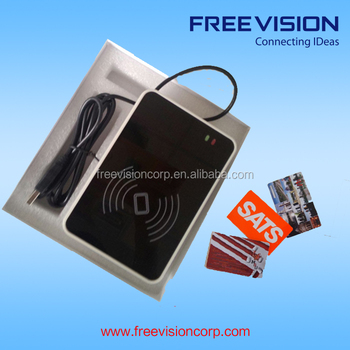 Freevision programmable nfc