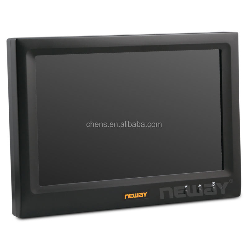 wholesale 7 inch monitor with USB panel socket and headrest