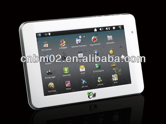 7 inch Android Car Tablet PC, HD Capacitive Screen, GPS, 3G, Wifi, Bluetooth