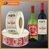 Printing Custom Wine Roll Adhesive Label Sticker