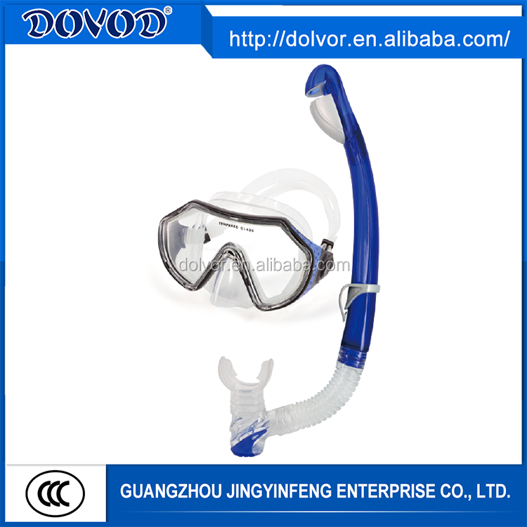 OEM service or customized diving equipment snorkel mask set