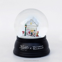 Fancy music snow globe for Christmas decoration and gift