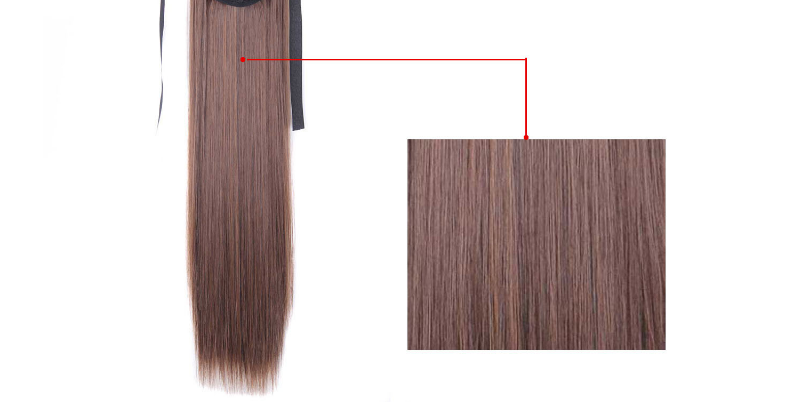 "22"" Silky Straight 15 Colors Synthetic Hair"