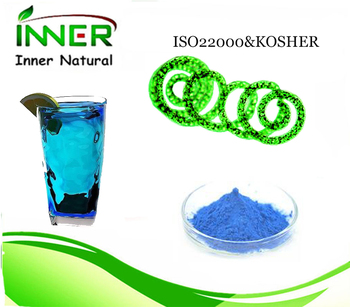 Natural natural blue color c-phycocyanin from spirulina extract