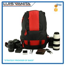 Wholesale Camera Red Backpack Men