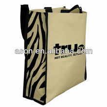 Fashion promotional Zebra tote bags