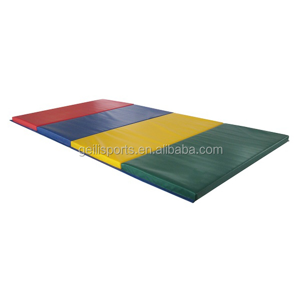 Tumble track inflatable air mat for gymnastics