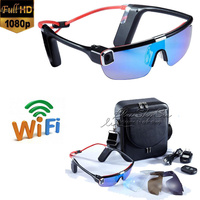 Wifi HD 1080P F62 Remote Control Video Recorder Sport Handfree Eyewear Sunglasses camera