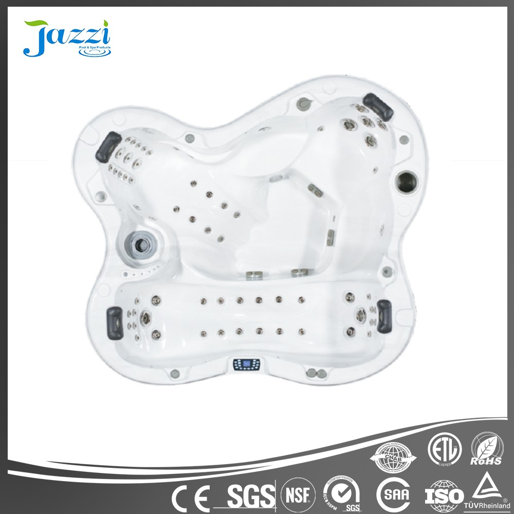 JAZZI Factory Sex Bathtub Out Door Hot Tub Massage Spa SKT338K
