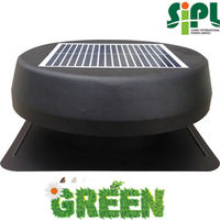 Vented exhaust type and solar attic ventilating fan