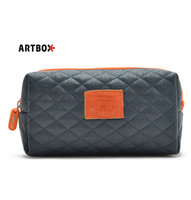 Factory Promotional Packaging Waterproof PU Leather Cosmetic Bag
