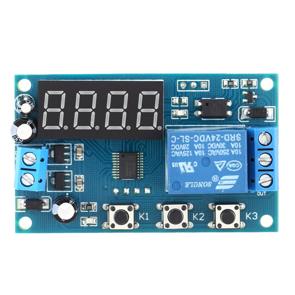12v/24v-time-delay-relay Multifunction Delay Time Module Switch Control Relay Cycle Timer relay