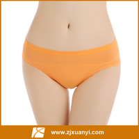 seamless breathable soft women orange color sexy underwear panties, boypants, boyshorts,women underwear