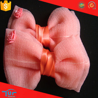 High quality beautiful fashion ribbon litter girl hair bow decoration