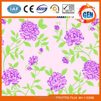 Wall paper smart printed stretch ceiling film with best supply with accessories samples for household