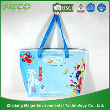 Wholesale polyester bag/Carry polyester bag/polyester compact reusable shopping bag