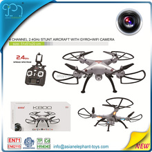 2.4GHZ Wifi Drone For Kids Professional Quadcopter Drone With 4K Camera