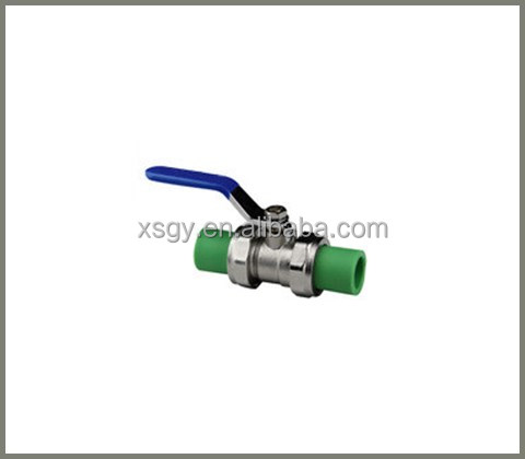 ppr pipe and fitting ppr fitting double ends valve price list