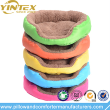 Lovely plush memory foam animal shaped pet bed dog bed