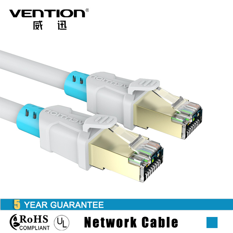 Vention High Speed CAT6 RJ45 Ethernet Network Cable 1M 1.5M 2M 3M 5M Gold-plated Computer LAN Internet Cable