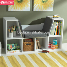 Wholesale portable new design wooden book shelf from China