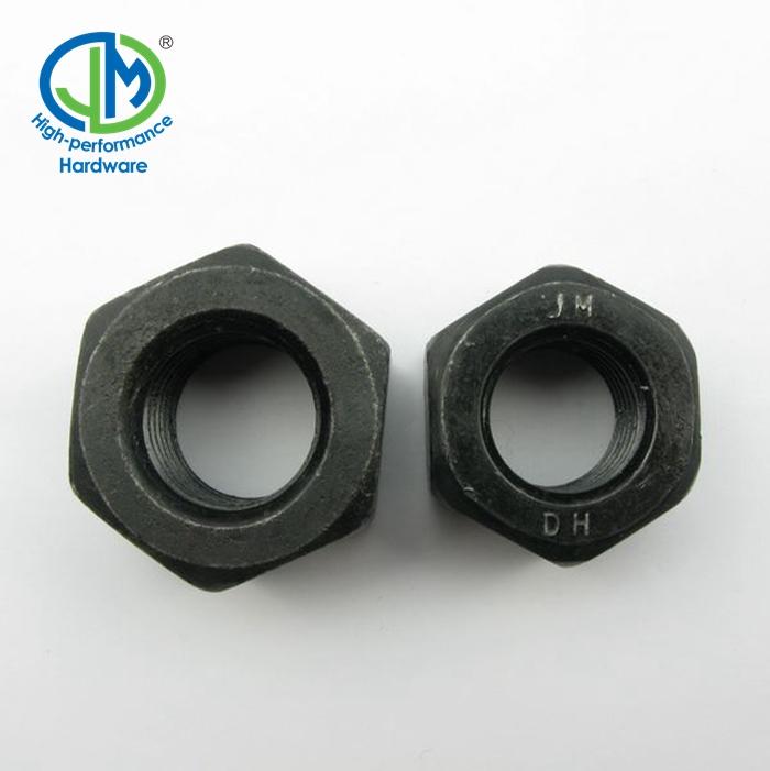 Steel high grade 2 inch Heavy Hex Nut ASTM A-194 Grade 2H Galvanized