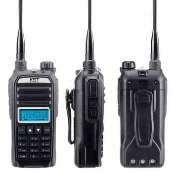 Handheld with LCD Display KST UV-F89 Dual Band Walkie Talkie