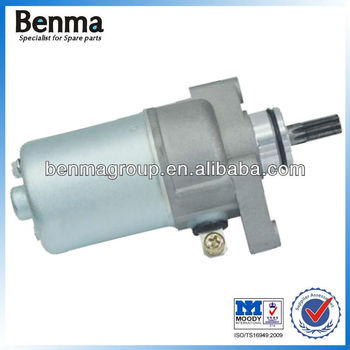 European motorbike JUPITER starter motor ,best price for sale !
