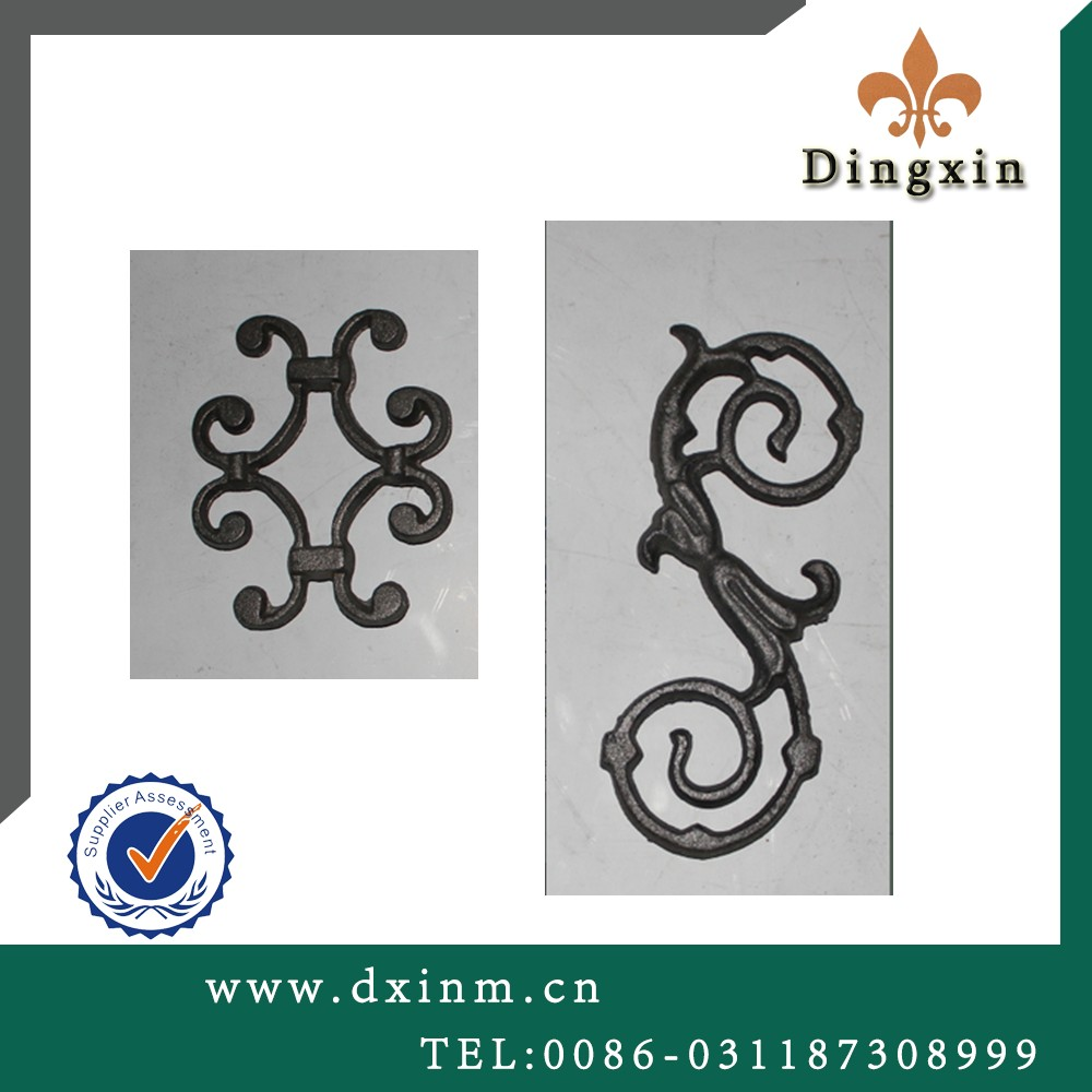 The casting iron most popular wrought iron outdoor wrought iron stair railing