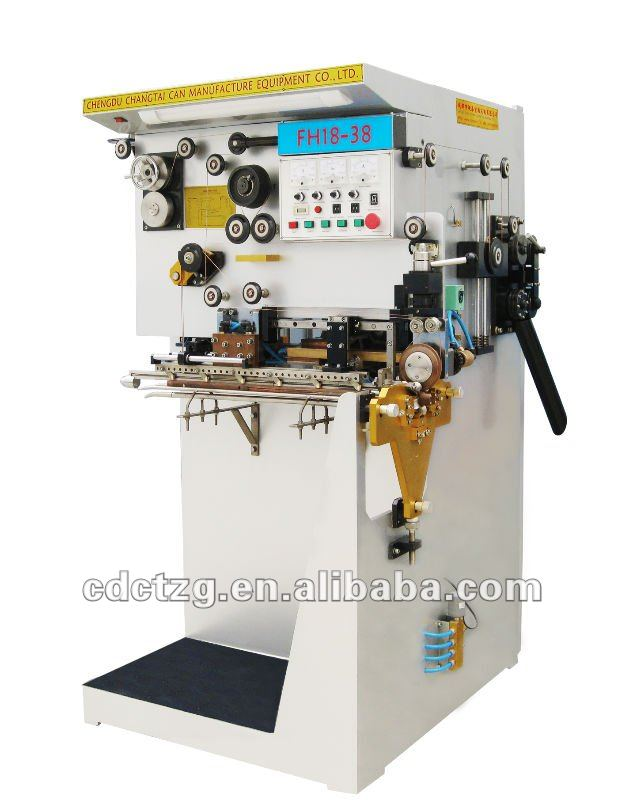 Semi-automatic torch/food/beverage/chemical tin can line welding machinery