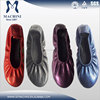 Ballet flats wholesale female fantasy shoes,female footwear handmade by factory