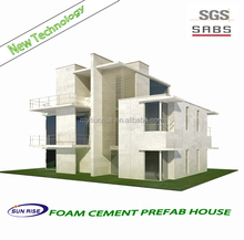 Energy Saving Fireproof luxury prefabricated homes