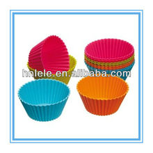 2015 new design silicone cupcake mold