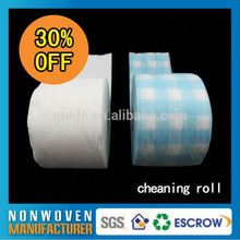 Biodegradable Recyclable Cleaning Roll Wiper