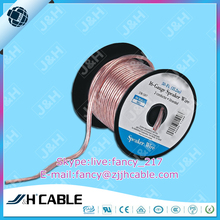 Speaker Video Cable 16AWG Bare Copper PVC Insulation Flat Speaker Cable