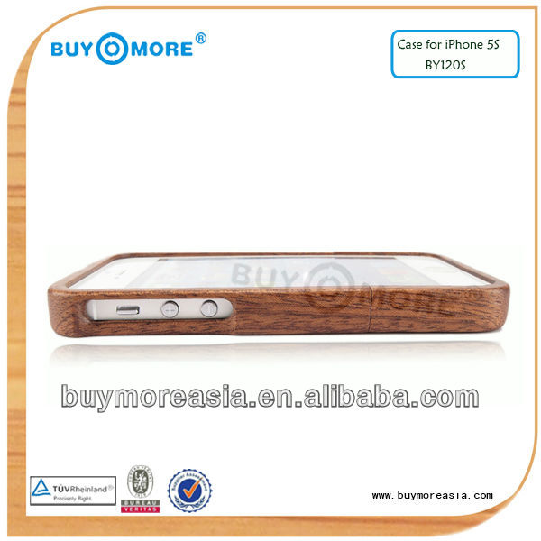 2014 world cup wood or wooden mobile phone case with accessories for iphone 5s