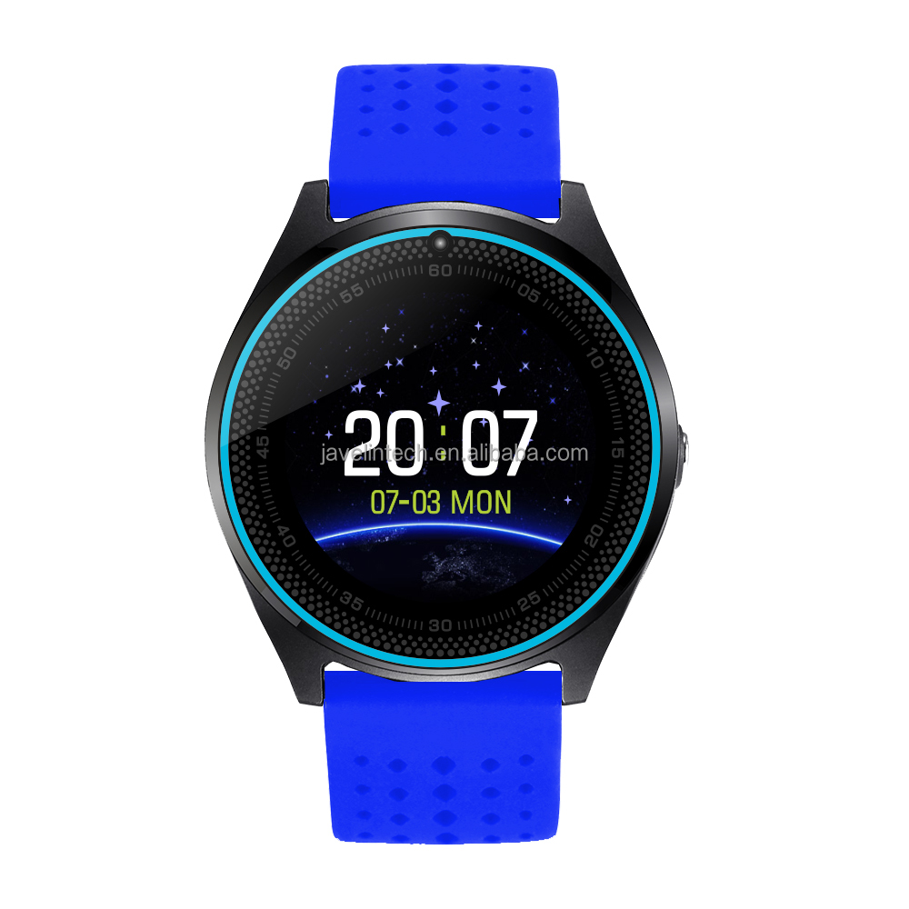 Fashion wholesale v9 Blue tooth wrist band smart watch mobile phone