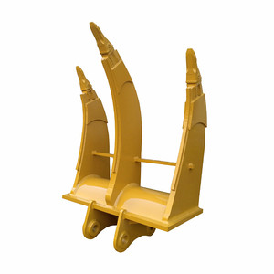 wide working range applied to loose hard soil 3 point teeth ripper for excavator heavy machines