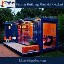 2015 New China modern building luxury container house/prefabricated house for sale