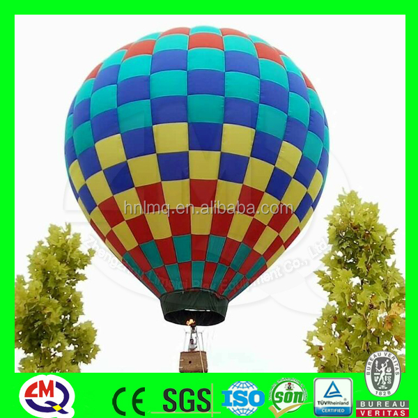 Giant outdoor inflatable hot air balloon with good price