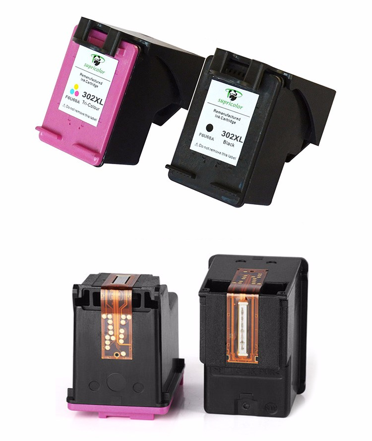 Supricolor compatible for hp302XL cartridge replacement for HP 3630 3632 3633 3634 3636 printer