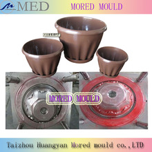 hot sale high quality competitive price plastic nice garden pot mould