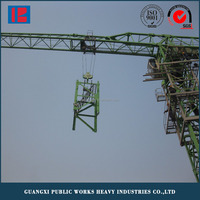 travelling electric tower crane/tower crane drawing