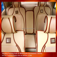 wholesale HX001 car seat cushions leather universal car seat cover