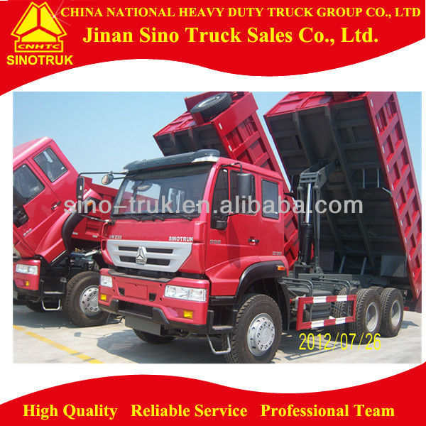 Golden Prince 6*4 Tip Lorry /Dump Truck With Competitive Price