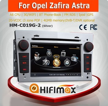 Hifimax Opel Combo car cd mp3 player/ radio dvd player combo car dvd gps navigation system
