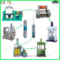 firestop duct sealant making machine