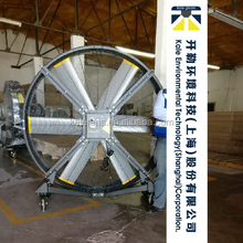 Aluminum Blade Low Power Movable Industrial Floor Standing Fan With DC Motor