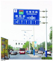 Metal Traffic Warning Road safety Sign Board size